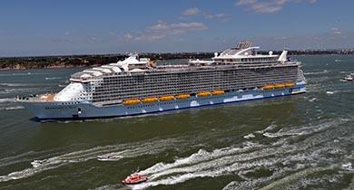 Bon voyage au plus gros navire de croisière au monde